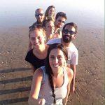 Intensive Spanish Course. Kedaro Students on the beach
