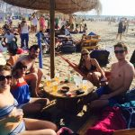 Lifestyle in Huelva. Teachers at Mosquito Club